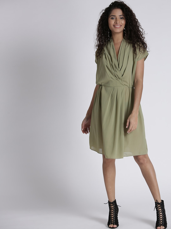 Wrap Dress, Myntra