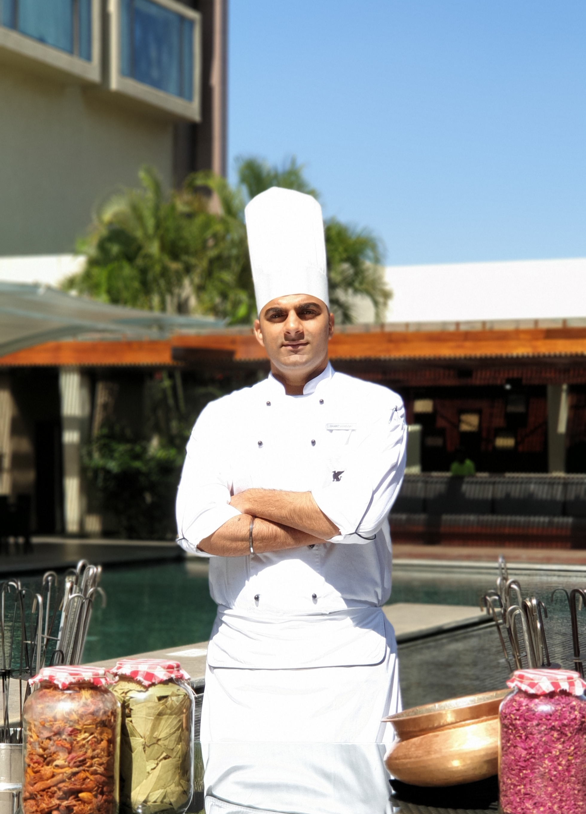 A tete-a-tete with Chef Ishant Khanna, JW Marriot talks About His Culinary Journey